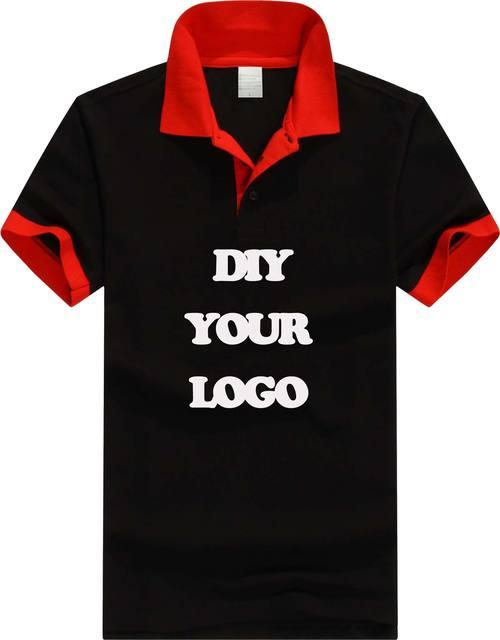 Высокое качество на заказ с логотипом мужчины polo shirt with лоскутное воротник, шелкография печать, вышивка логотипа для компании/школы/клуб