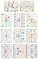 11 UNIDS/LOTE EMULACIÓN SIMULACIÓN AUTOADHESIVO 3D NAIL STICKER TATUAJES FLOR PLAYA DEL ARCO IRIS de FRUTAS PALMA FISH E248-258