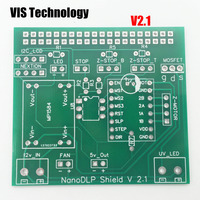 1pc Nanodlp V2 1 PCB Double circuit board for Nanodlp shield V2 1 PCB for  SLA Nano printer Thingiverse TOS