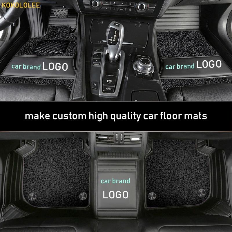 tapis de sol 3D Alfombrillas de goma a medida BMW sere 5 F10 y F11 desde 2010