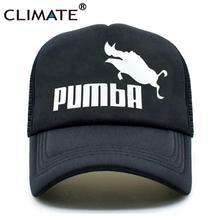 CLIMATE Funny Pumba Trucker Cap Lion King Cap Hakuna Matata