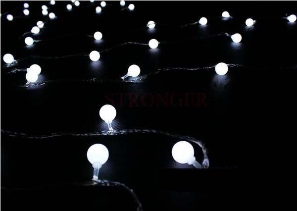 Matte Balls 10m White LED String Strip Fairy Lights Market Cub Background Wedding Party Home Decoration Christmas Light On Aliexpress