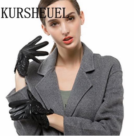93fe5a37294cb KURSHEUEL Women s Touchscreen Texting Driving Winter Warm Nappa Leather  Gloves (Fleece or Cashmere Lining)