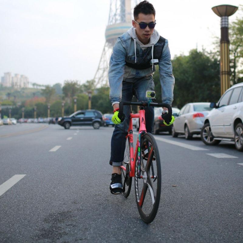 YI Bike Mount For YI Action Camera Green Handlebar For Sports Camera YI Official-5
