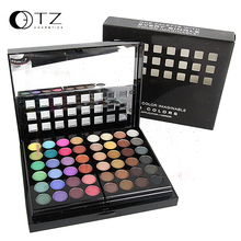 TZ 78 Colors 3 Layers concealer Makeup Set Eyeshadow  makeup palette and Concealing in Matte and Shimmer with Mirror Brush