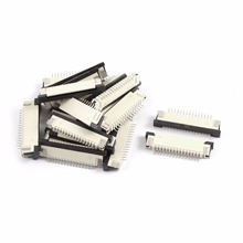 0.8mm pitch bottom contact 18pin FPC/FFC connector 10piece