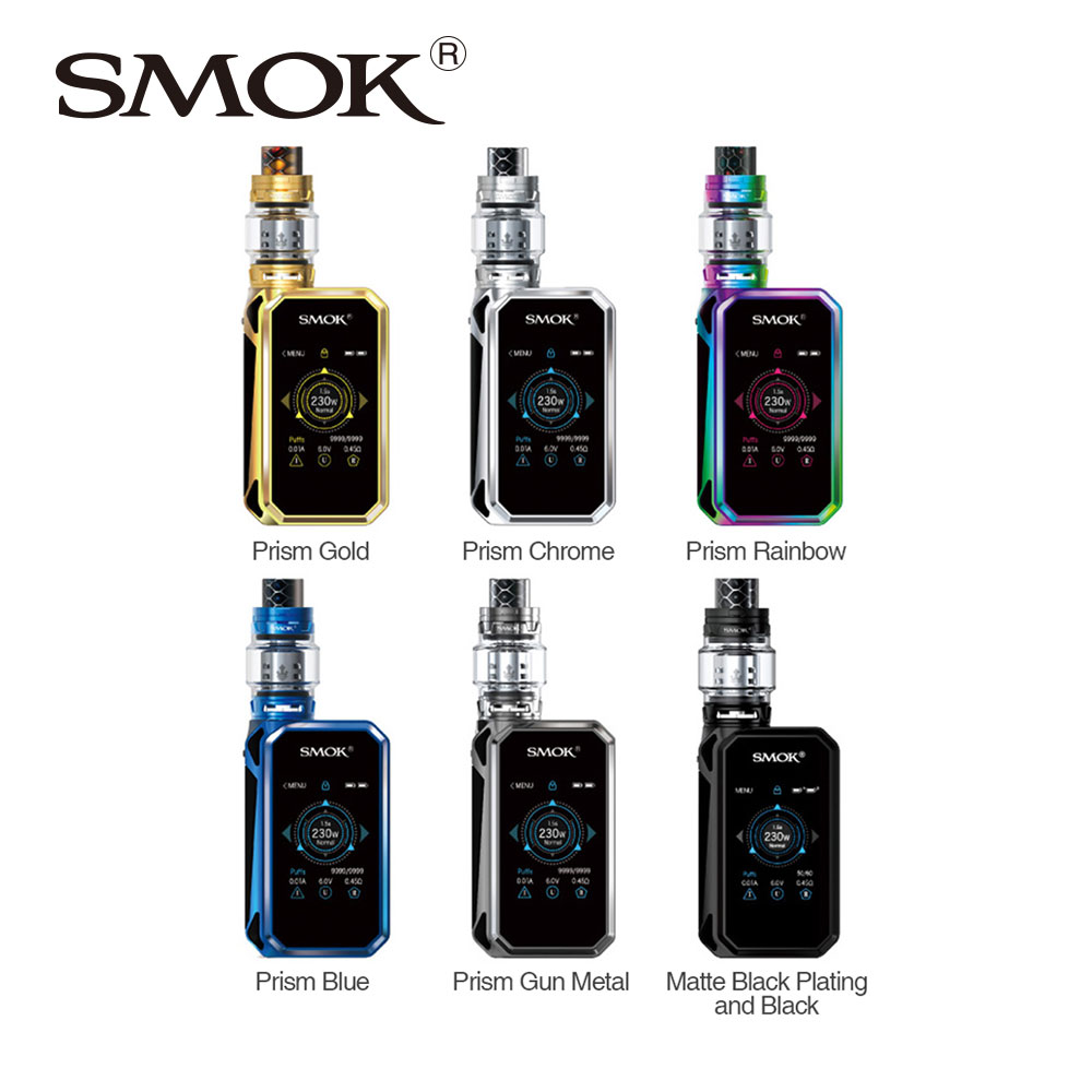 Original SMOK G-PRIV 2 230W Kit Luxe Edition w/ TFV12 Prince 2ml/8ml Atomizer Tank & SMOK G PRIV 2 Mod 2.0 Inch Touch Screen