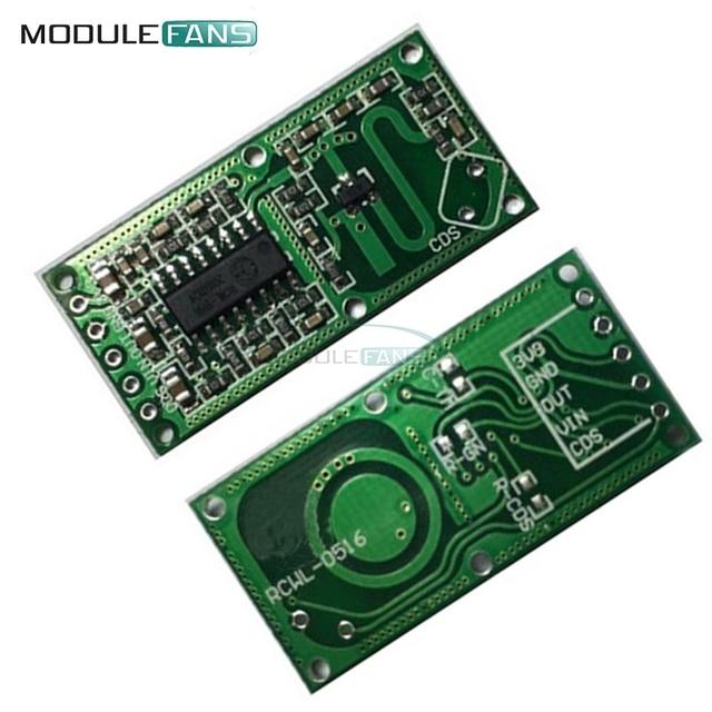 2 Unids RCWL-0516 RCWL 0516 Microondas Radar Sensor de Módulo de Sensor de Sensor de Cuerpo Humano De Inducción Interruptor de Salida 3.3 V