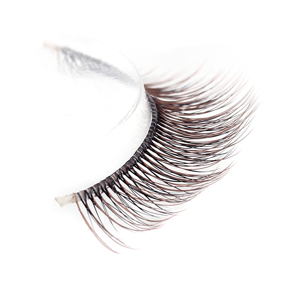 c32cdd870bc 3D Handmade 3Pairs Silk Mink Lashes Soft Material Natural For Beauty Makeup Fake  Lashes Set For Eyelashes-2