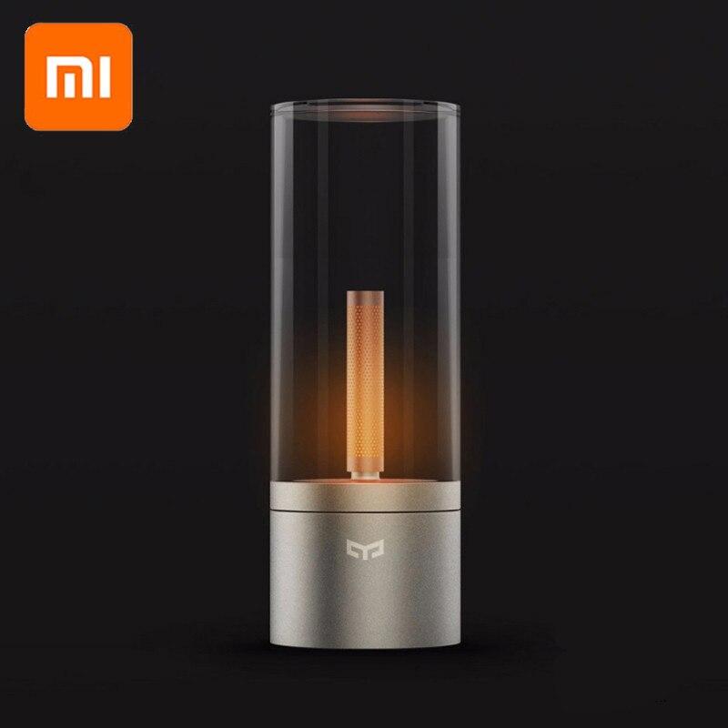 Xiaomi YEELIGHT mi jia Candela contrôle intelligent led veilleuse, lumière d'ambiance pour mi home app, kits de maison intelligente xiaomi