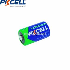 Image 4 - 12 sztuk baterii PKCELL CR2 CR15H270 850mAh 3V li mono2 Batteria dla GPS systemy zabezpieczeń kamera sprzęt medyczny lampa Radio