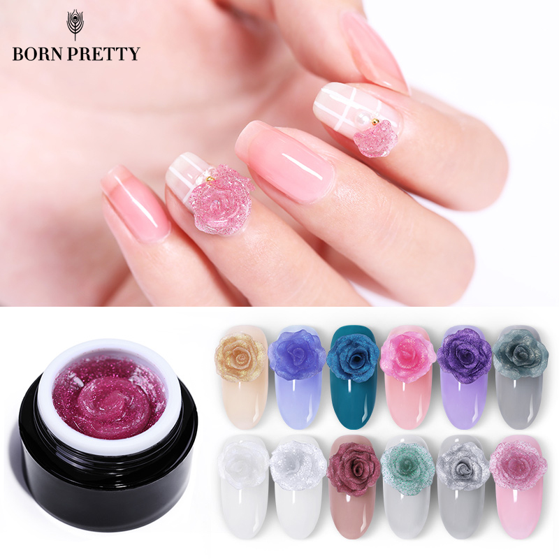 born pretty glitter carve gel polish