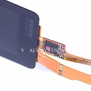 Image 2 - 100% חדש לגמרי מקורי עבור Gopro hero 6/7 מגע מסך אחורי LCD לgopro 6/7 תיקון LCD תצוגת מסך מסך מגע גוף מטוס