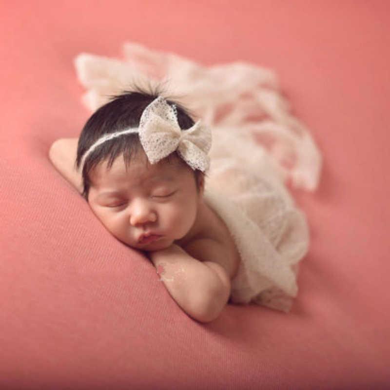 Baby Wrap Pasgeboren Fotografie Props Ontvangen Dekens Baby Meisjes Jongens Foto Props Inbakeren Dekens Peuter Fotografie