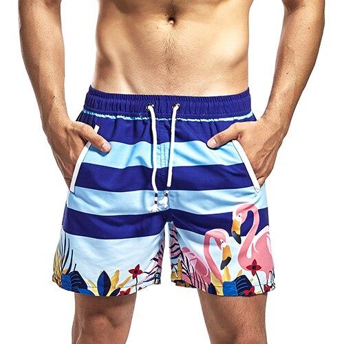 Boys Comfortable Hawaii Waves Hiphop Casual Style Beach Shorts Swim Trunks Board Shorts