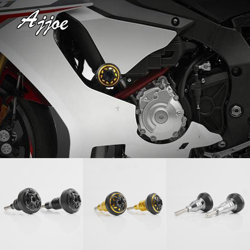 Falling Protectors Motorcycle CNC Aluminum Frame Slider Anti Crash Caps Engine Protection For R1 R1M R1S MT-10 Special