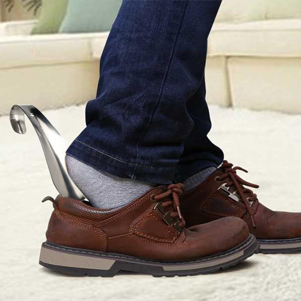 1 Pcs Schuhe Heber Professionelle Schuhlöffel 14,5 Cm Edelstahl Metall Schuh Horn Löffel Schuhlöffel Schuhe Heber Werkzeug