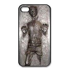 Горячий не 3D Хан Соло в карбоните Звездные войны черный чехол для телефона чехол для iPhone 5S 5C SE 6 6S 6Plus 7 7Plus 8 8Plus X XS XSMAX XR