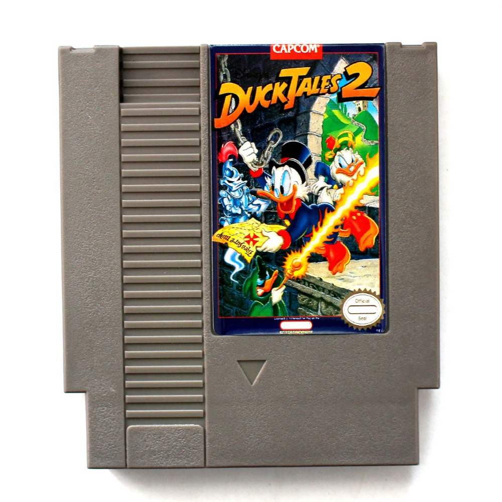 Duck Tales 2 English Version <font><b>72</b></font> <font><b>Pins</b></font> <font><b>Game</b></font> <font><b>Card</b></font> For 8 Bit <font><b>Game</b></font> Player image