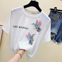 Vintage t camisa mujeres, tops de verano, camisetas manga corta Camiseta de algodón camiseta, camisetas de mujer verano 2019 tee camisa mujer