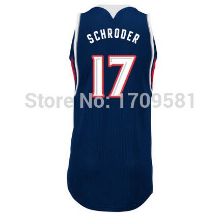 100% authentic e50a1 baf7f Atlanta #5 DeMarre Carroll Jersey Cheap #17 Dennis Schroder ...