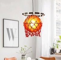 Баскетбольные светильники для мальчиков, подвесные светильники для детей, светильник для дома в скандинавском и американском стиле, Подвес