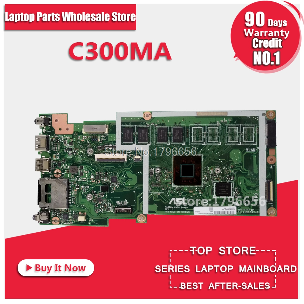 все цены на C300MA MB._2G/N2830/AS(WO/LTE) 32G 90NB05W0-R01800 motherboard For Asus C300M C300MA Laptop motherboard Mainboard