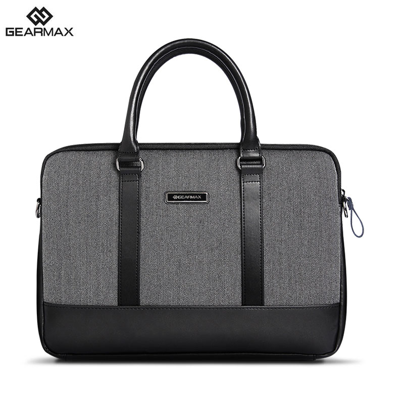 GEARMAX 13 Inch Laptop Messenger Bag for MacBook 13 15 Computer Laptop Bags for Dell 14+Free Keyboard Cover for MacBook 13 15