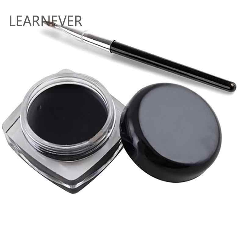 1 Pcs สีดำ Long Lasting Eye Liner ดินสออายไลเนอร์กันน้ำ Smudge - Proof ความงามเครื่องสำอางค์แต่งหน้าอายไลเนอร์ดินสอ