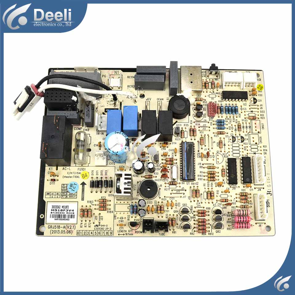 95% new good working for air conditioner pc board control board motherboard 300355624 M518F3 GRJ518-A