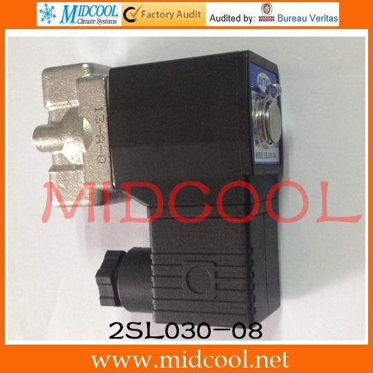 Original AirTAC Fluid control valve (2/2way) 2S Series (Direct-acting and normally closed) 2SL030-08 original airtac control valve m3 series