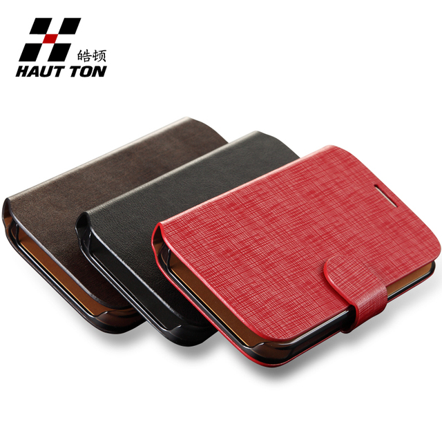 Hautton  for SAMSUNG   7100 cowhide leather mobile phone protective case