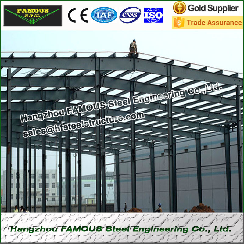 Pre-engineered Steel Structure Building For Storage Warehouse