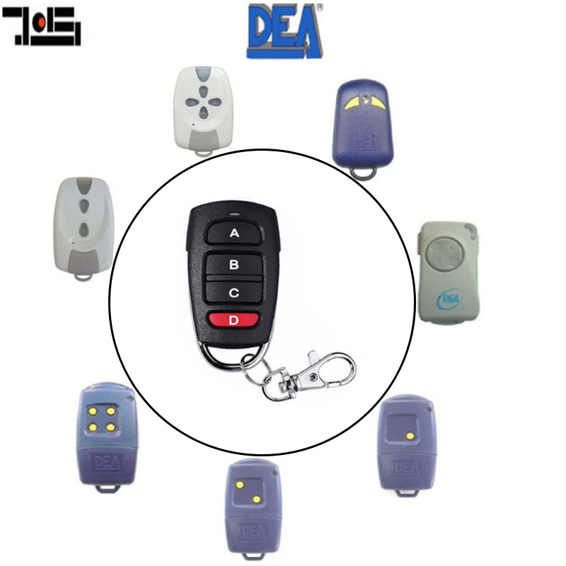 For DEA MIO TD 2/4  Remote Control 4 Button Fixed Code Remote Clone/Duplicator