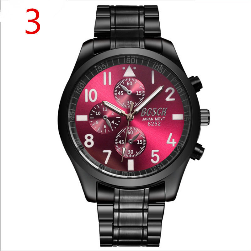Mens Watches Top Brand Luxury Sport Quartz Watch Men Business Stainless Steel Silicone Waterproof Wristwatch relogio66 irisshine i0856 men watch gift brand luxury new mens noctilucent stainless steel glass quartz analog watches wristwatch
