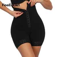 FeelinGirl High Waist Butt Lifter Waist Trainer Slimming Panties Tummy Shaper Control Panties Shapewear Corrective Underwear