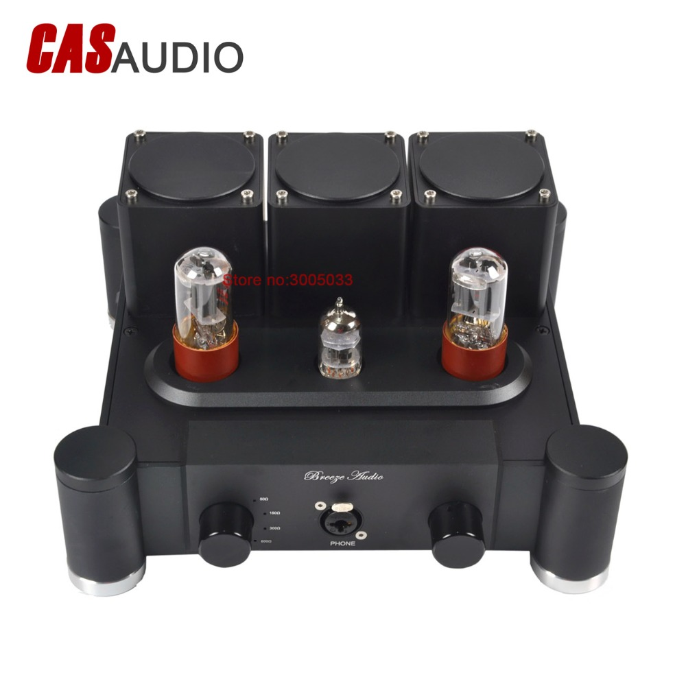 US $249 0 |12AX7 ECC83 6SN7 5692 Class A Single Ended Tube Headphone  Amplifier Preamp Valve Tube Headphone Amp W/ Plate Output Transformer-in