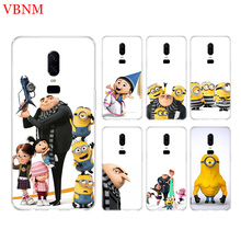 Minions Gru Agnes New Phone Back Case For OnePlus 7 Pro 6 6T 5 5T 3 3T 7Pro 1+7 Art Gift Patterned Customized Cases Cover Coque