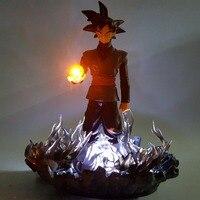 Dragon Ball Figurine Goku Black Led Night Lights Dragon Ball Super Zamasu Table Lamp llavero led dragon ball
