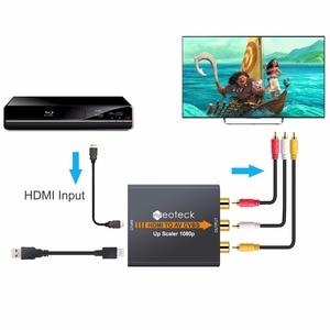 Image 3 - Neoteck 1080P HDMI to AV CVBS Converter NTSC PAL Output HDMI TO AV Scaler Switch Adapter HDMI to 3RCA AV CVBS Video Converter