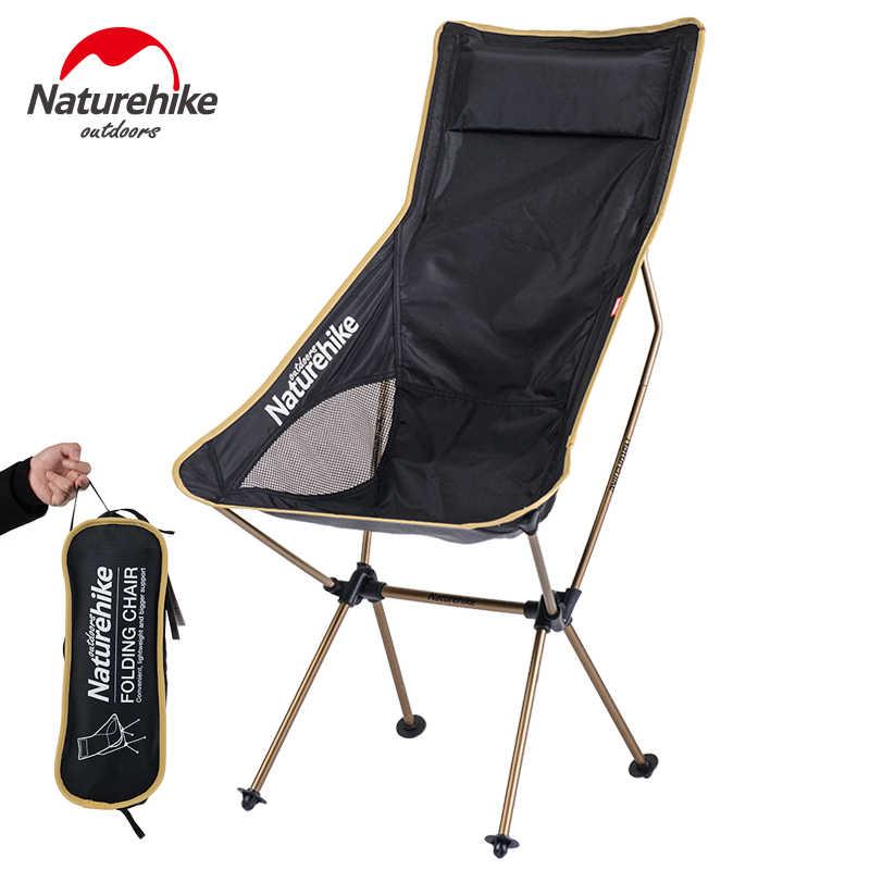 NatureHike для использования на открытом воздухе, кемпинг, переносные кресла складной стул рыбалка Пикник барбекю Сад Табурет удлиненное сиденье для кемпинга сиденье NH17Y010-L