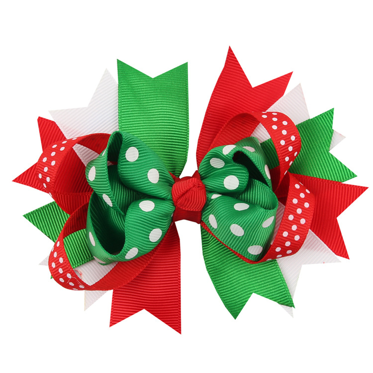 Christmas Hair Clips.Us 79 9 120pcs Lot New Coming Little Girl Christmas Hair Clip Bowknot Hair Clips Hair Accessories Headwear In Hair Accessories From Mother Kids On