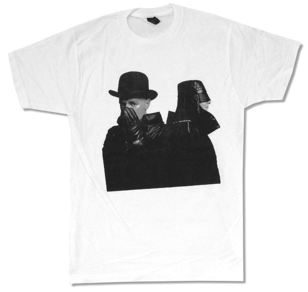 Funny Shirts O-Neck Men Short Sleeve Tall Pet Shop Boys Electric Portrait Tour 2014 T Shirt
