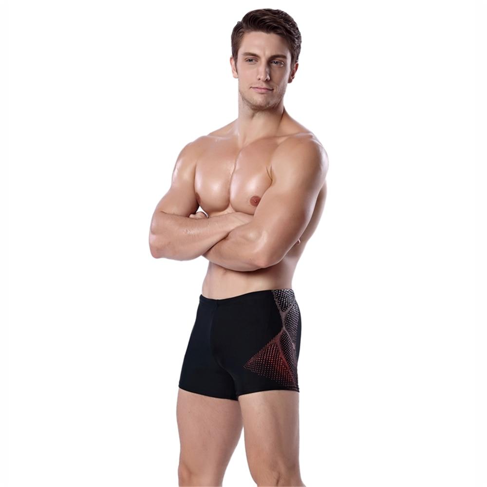 Vandrere Brand Men's Swimwear Elasticity Man Swimsuits Trunks, Swim Briefs Sports Suits Surf Board Shorts Summer Men Swim Suits