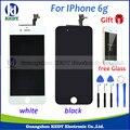 1 pcs grade aaa + qualidade para iphone 6g display lcd com tela de toque digitador assembléia + ferramentas + dom (livre de vidro)