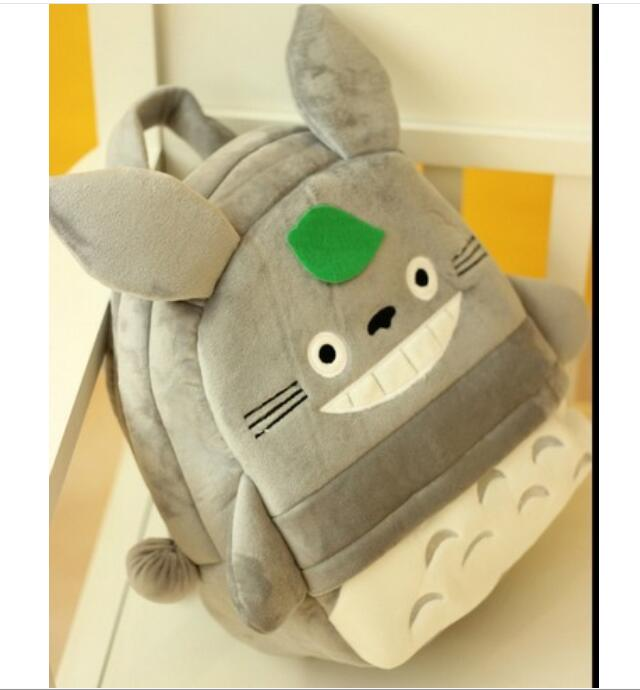 Totoro Cotton 3D Cartoon Children Backpack