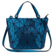 High Designer Luxury Geometric Tote Bags for Women 2018 Korean Style Casual Beautiful Shopping Handbags Ladies Crossbody Bag