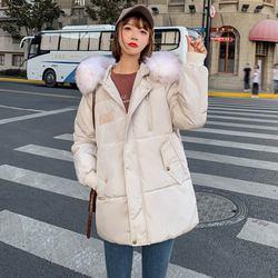 PinkyIsblack Winter Jacket Women 2019 New Fashion Slim Female Winter Coat Thicken Parka Down Cotton Clothing Fake fox fur collar 6