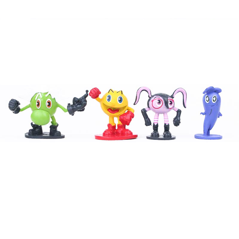 Hot sale Pac Man Cute cartoon Ghostly Adventures Action Figures Parkman Pixels Movie Figures Toys best gift for kid 12pcs/set-in Action & Toy Figures from ...