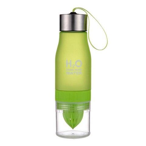 hot sale 700ml Water Bottle H20 plastic Fruit infusion bottle Infuser Drink Outdoor Sports Juice lemon Portable Water Islamabad